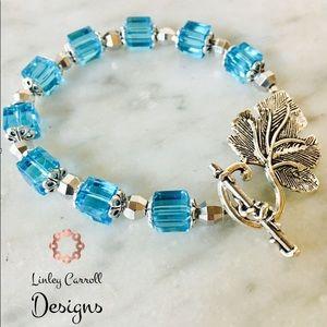 Jewelry - Ocean Blue Austrian Crystal Bracelet